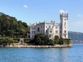 Zámok Miramare, Terst, Taliansko