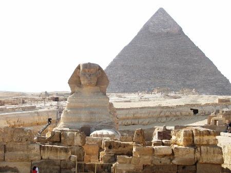 Pyramídy, Káhira