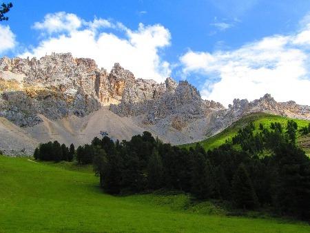 Dolomity, Taliansko