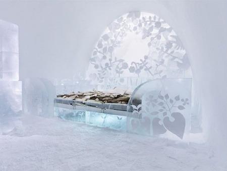 Ľadový hotel Icehotel, Švédsko
