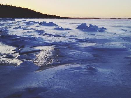 Zamrznuté more