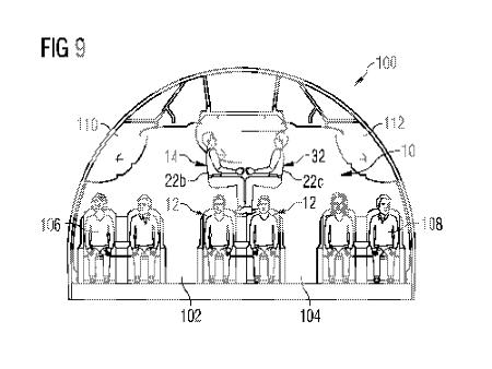 Návrh sedenia v lietadle