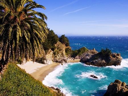 Big Sur: Prázdne pláže,