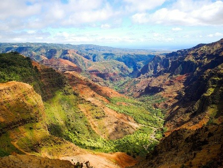 Veľký kaňon Pacifiku: 900-metrová