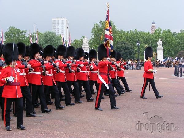 Anglická kráľovská čestná stráž, londýn