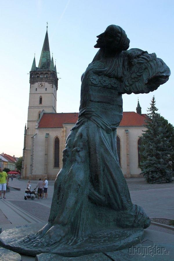 Celý Prešov zdobia mnohé