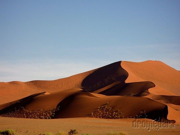 Nádhera a nekonečnosť namíbijskej púšte