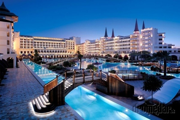 Luxusný mardan palace hotel, antalya