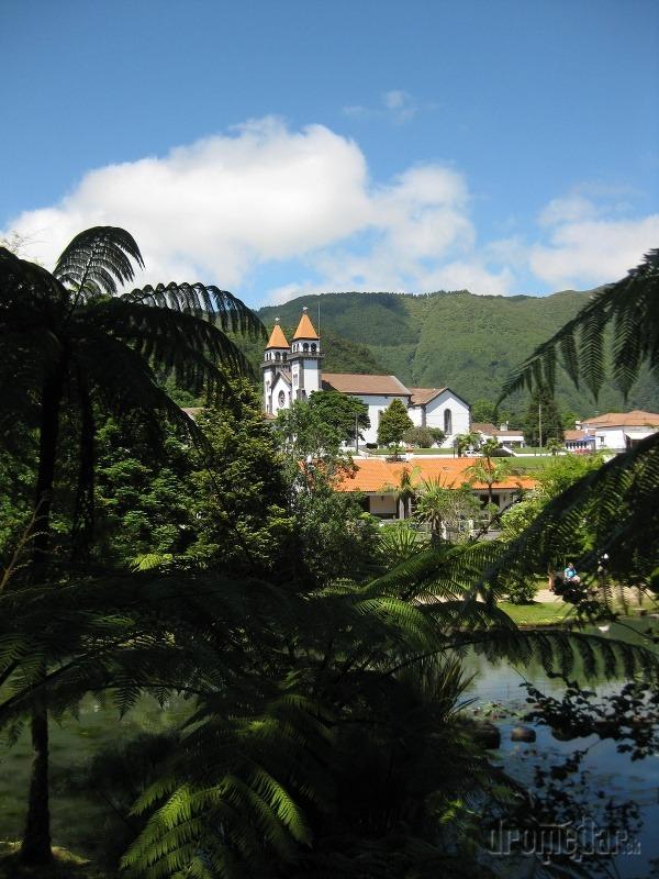 mestečko Furnas, Azorské ostrovy