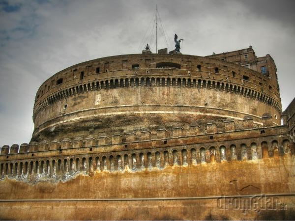 Anjelský hrad, Rím