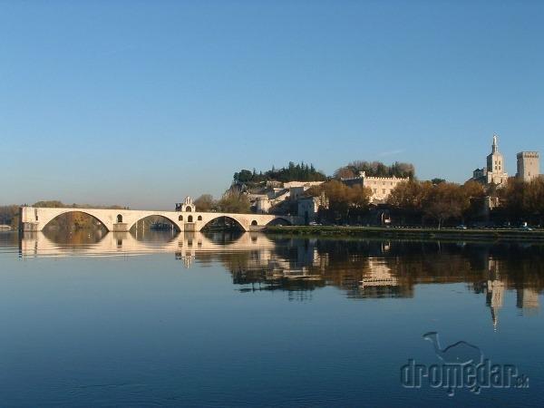 Avignonský most, Francúzsko