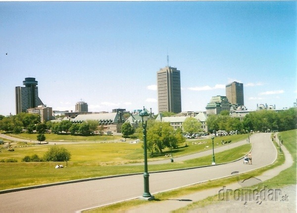 Park Bojové polia, Quebec