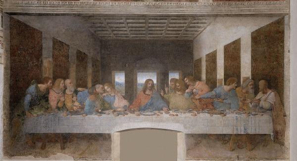Posledná večera, Leonardo da
