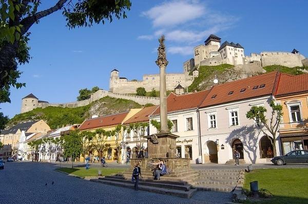 Morový stĺp, Trenčín