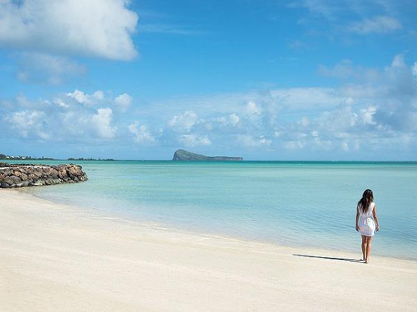 Nejkrásnější pláž Mauricia leží