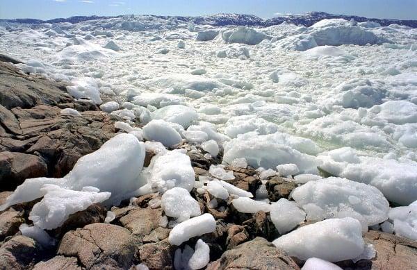 Ľadový fjord Ilulissat, Grónsko