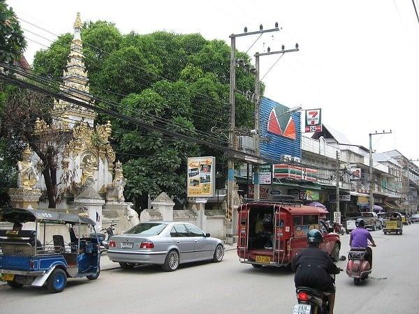 Chiang Mai má atmosféru,