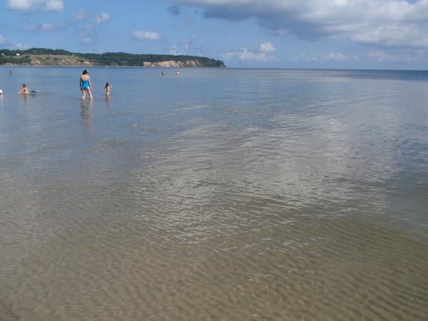 Južná pláž pri meste