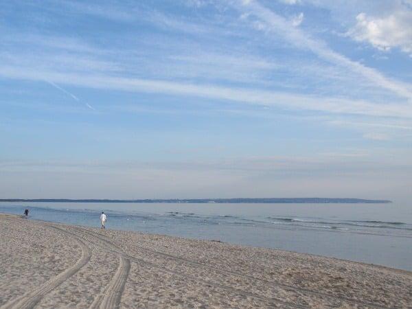 Pláž Baltického mora