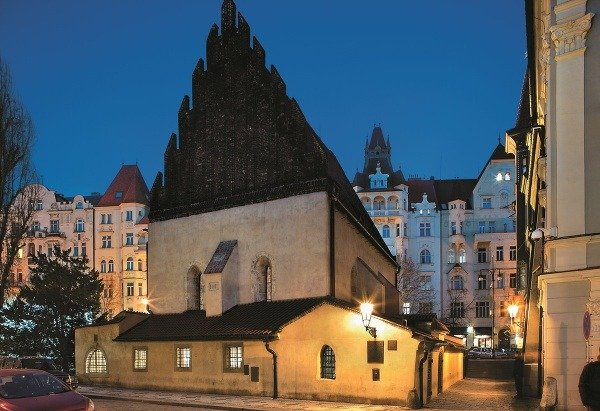 Staronová synagóga, Praha