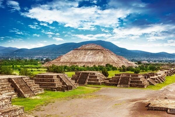 Teotihuacán – Pyramída Slnka
