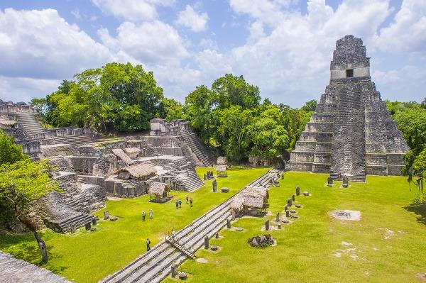 Medzi tajomné stredoamerické pyramídy