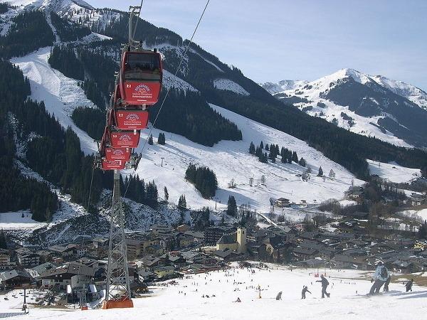 Saalbach, Rakúsko
