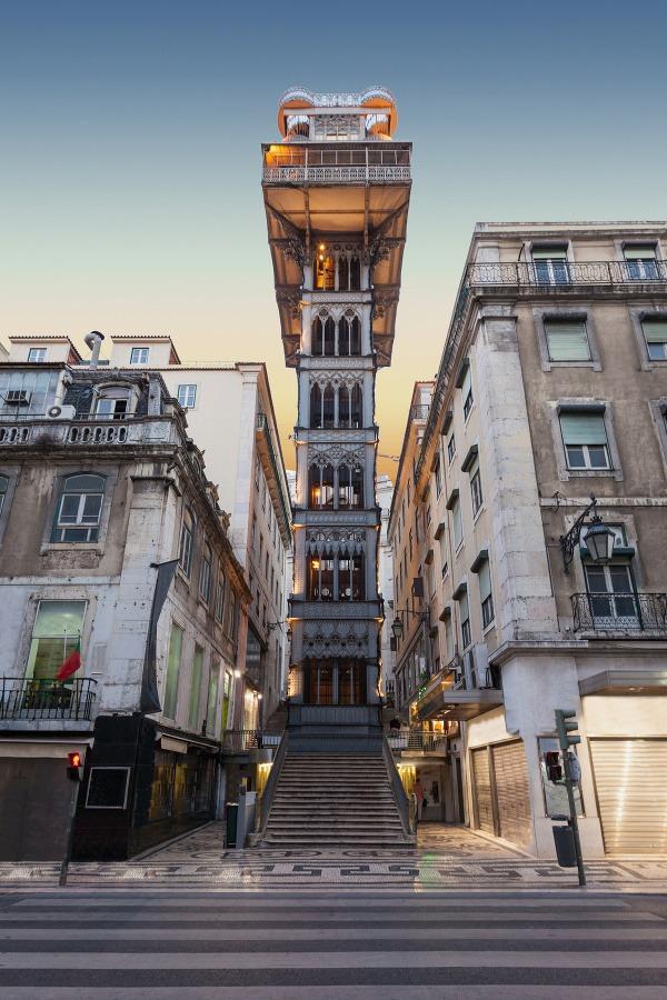 Výťah Santa Justa, Lisabon,