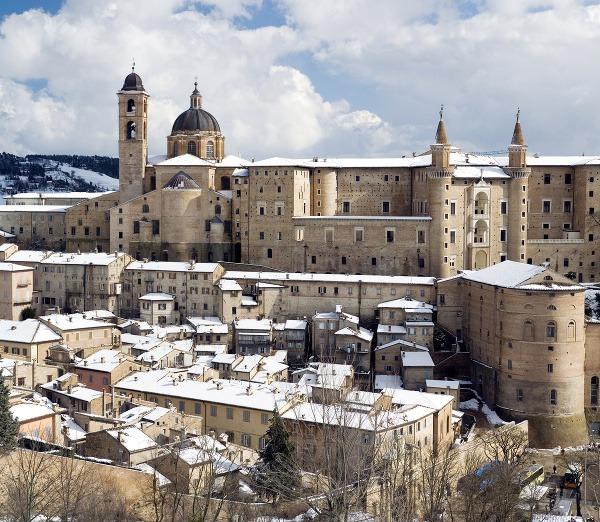Hrad Urbino, Taliansko