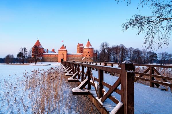 Ostrovný hrad Trakai, Litva