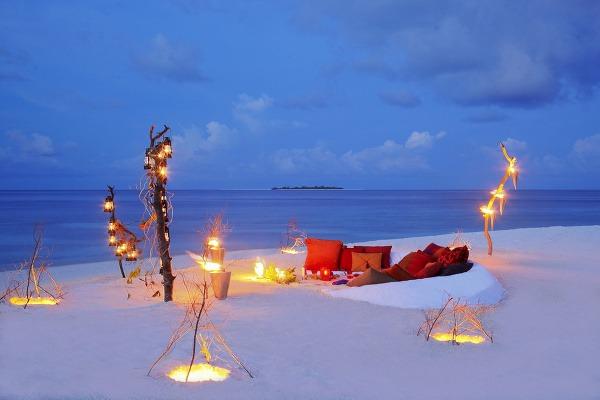 Maldivy prajú romantike. Takto