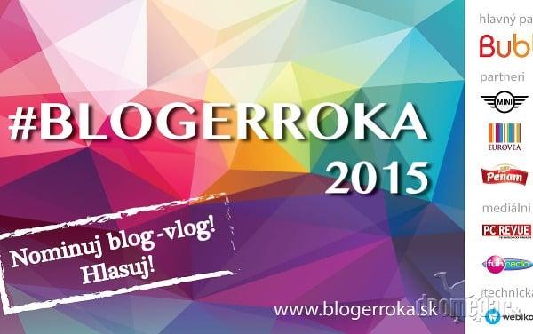 #BLOGERROKA 2015 hľadá najlepšieho blogera v kategórii Cestovanie
