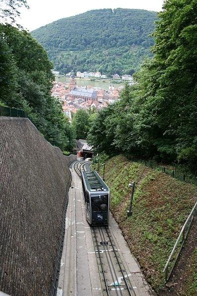 Pozemná lanovka, Heidelberg