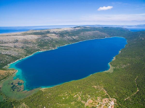 Cres, Vranské jazero