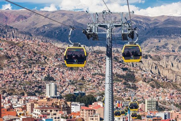 La Paz - najvyššie