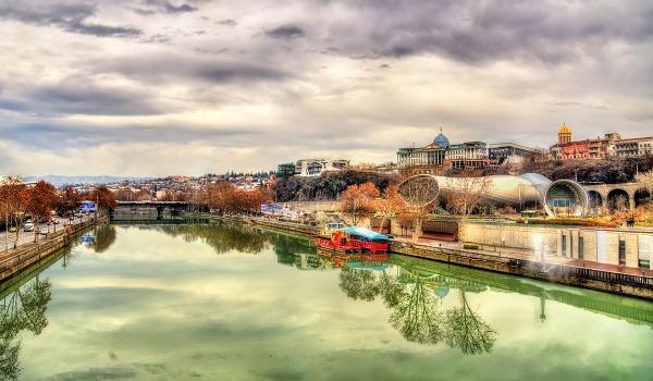 Gruzínske hlavné mesto Tbilisi