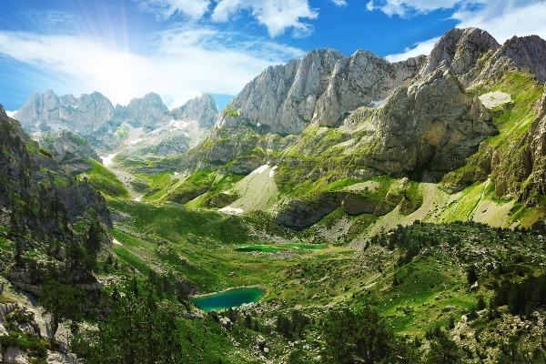 Albánske hory