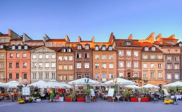 Kvetinový trh vo Varšave