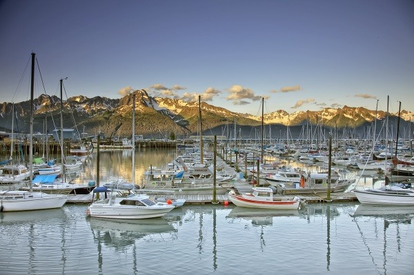 Seward, Aljaška, USA
