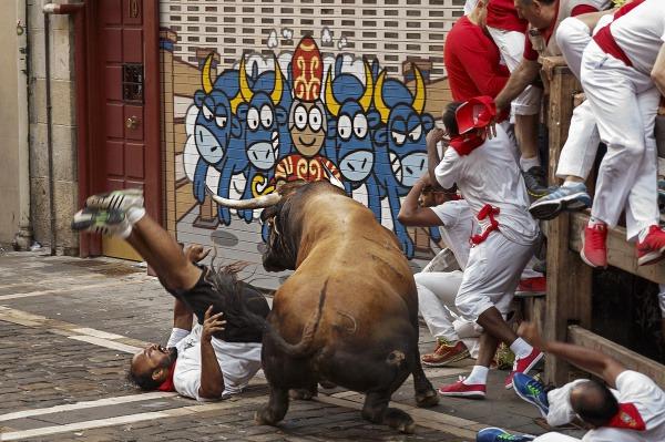 Beh s býkmi v