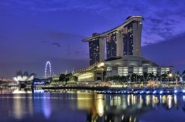 Luxusný komplex Marina Bay