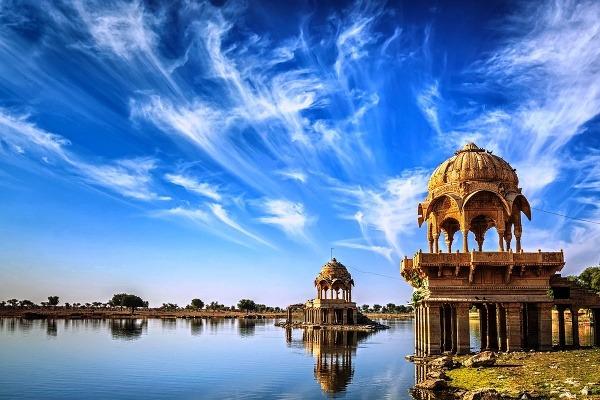 Gadi Sagar v Radžastáne,