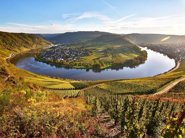 Rieka Mosela, Nemecko