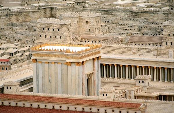 Model Herodotovho chrámu v