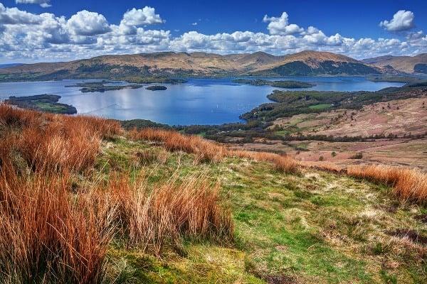 Jazero Loch Lomond z