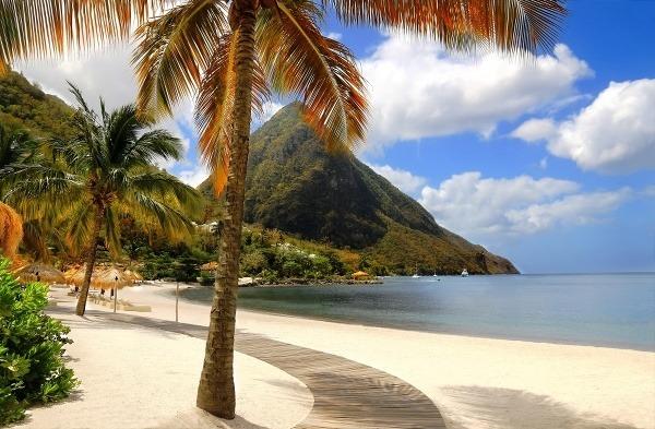 Očarujúci ostrov Svätá Lucia
