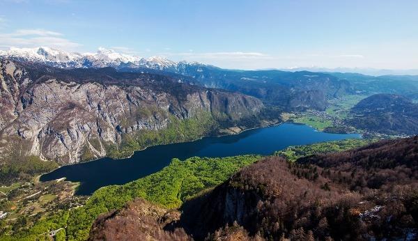 Jazero Bohinj, Slovinsko