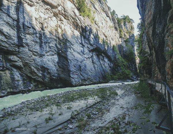 Aareschucht, Švajčiarsko
