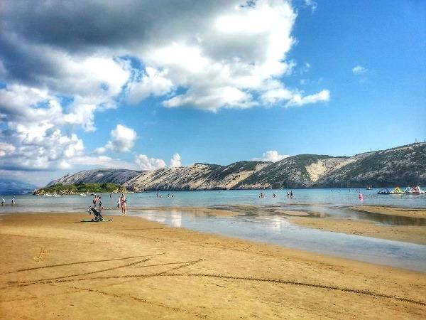 Rajska plaža (Lopar, ostrov