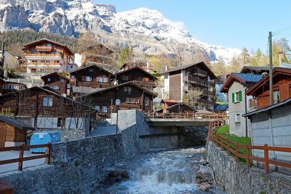 Kúpele Leukerbad, Švajčiarsko
